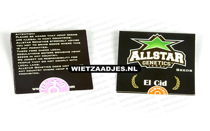 Allstar Genetics verpakking