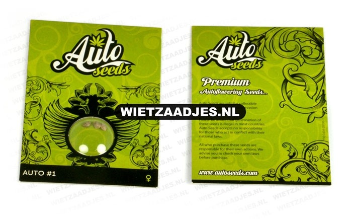 Auto Seeds verpakking
