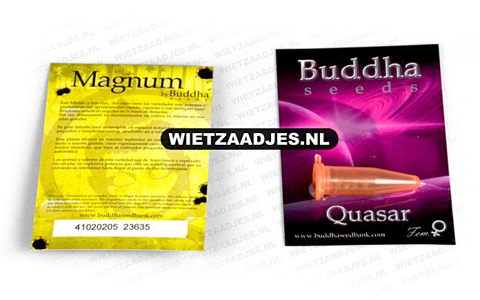Buddha Seeds verpakking