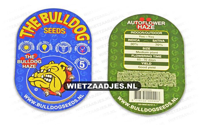 Bulldog Seeds verpakking