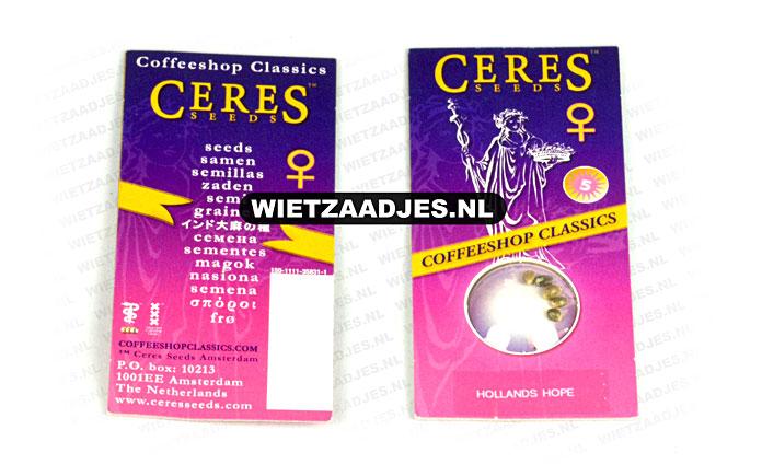 Ceres Seeds verpakking