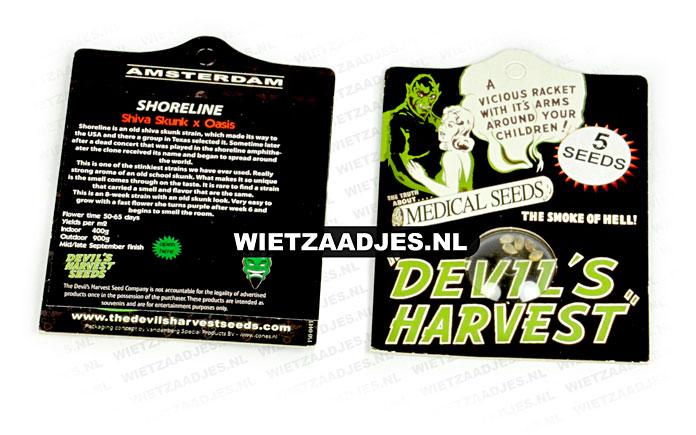 Devil's Harvest verpakking