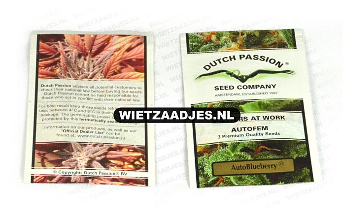 Dutch Passion verpakking