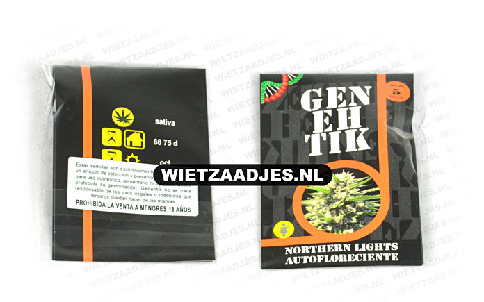 Genehtik Seeds verpakking