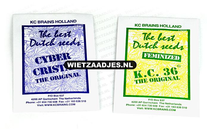 KC Brains verpakking