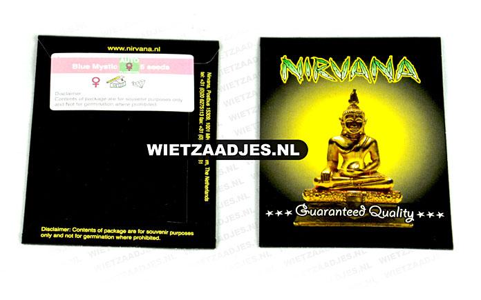Nirvana Seeds verpakking