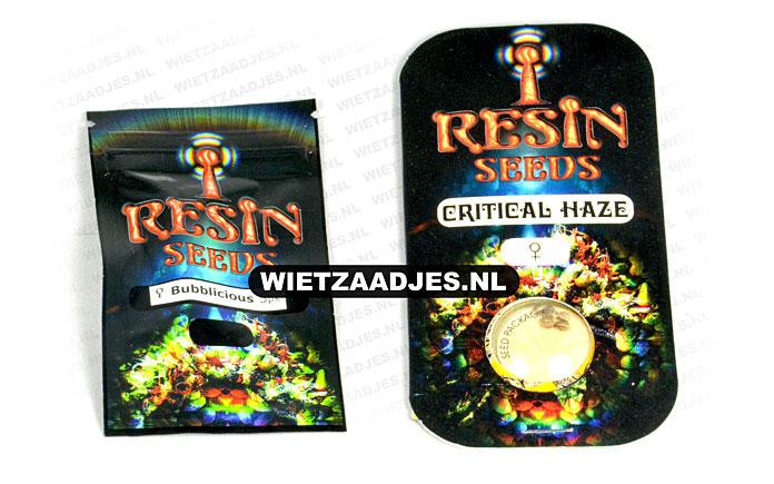 Resin Seeds verpakking