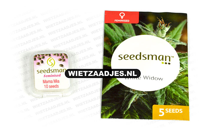 Seedsman verpakking