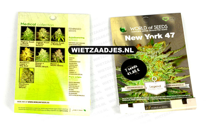 World of Seeds verpakking